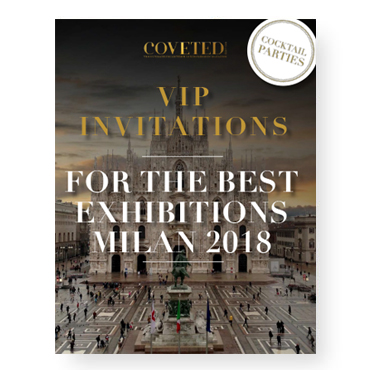 VIP Invitation | For the Best Exhibitors In Milan 2018