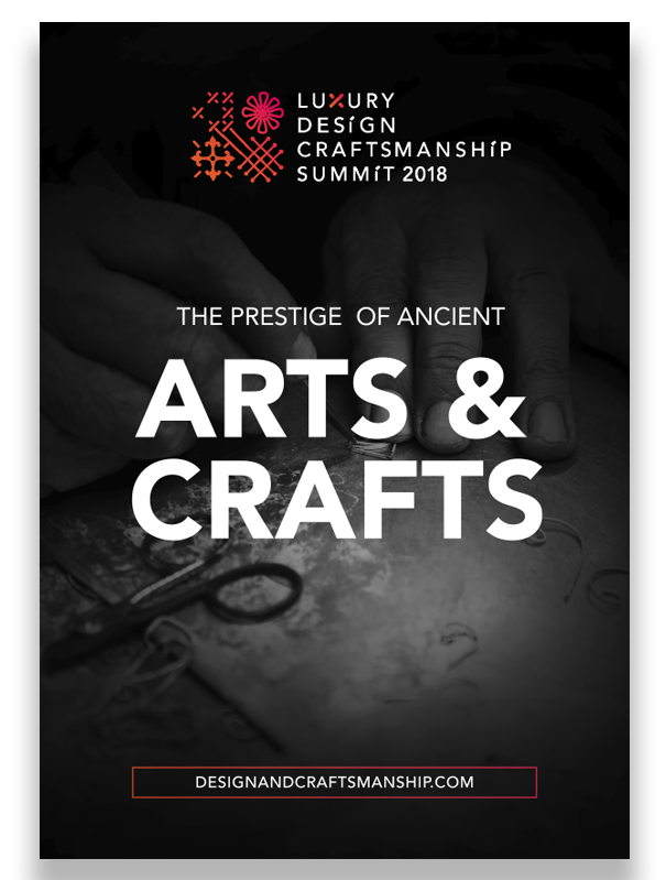 Ebook Luxury Design Craftsmanship Summit 2018