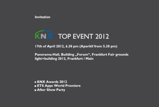 KNX TOP Event 2012 knox top event