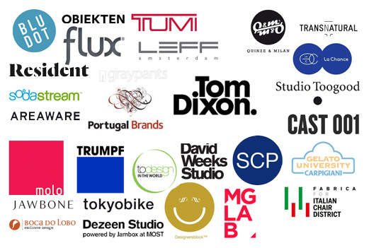 MOST, from Tom Dixon logos