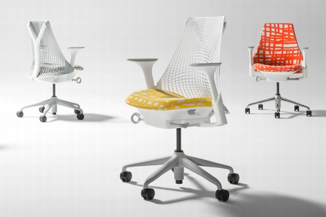 herman miller  TOP 5 EXHIBITORS ON 100% DESIGN LONDON herman miller chairs