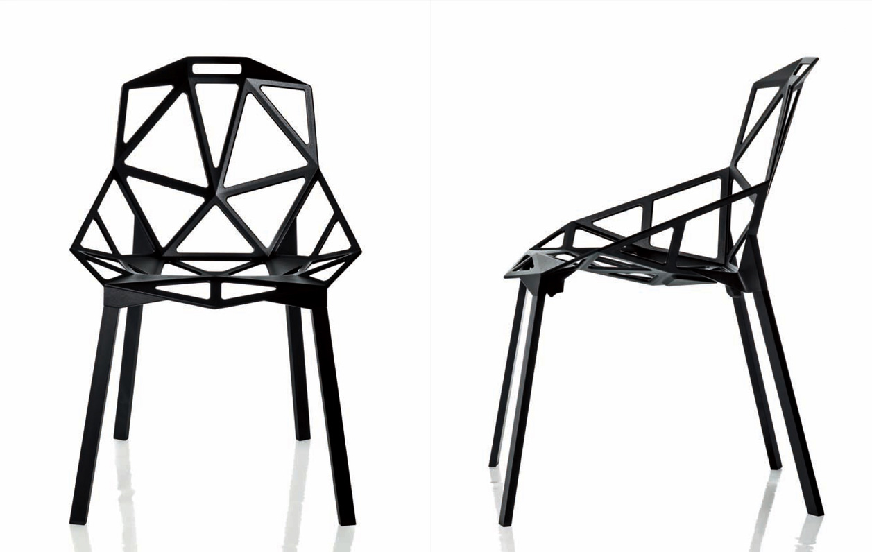 magis  TOP 5 EXHIBITORS ON 100% DESIGN LONDON magis one chair