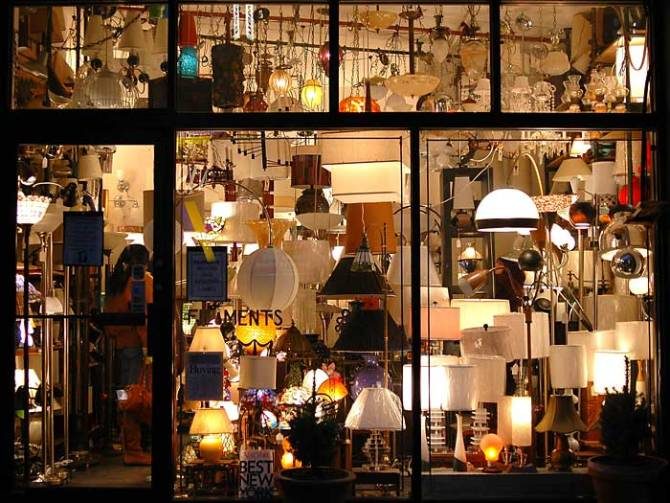 filaments  Best Vintage Decor Stores in New York filaments