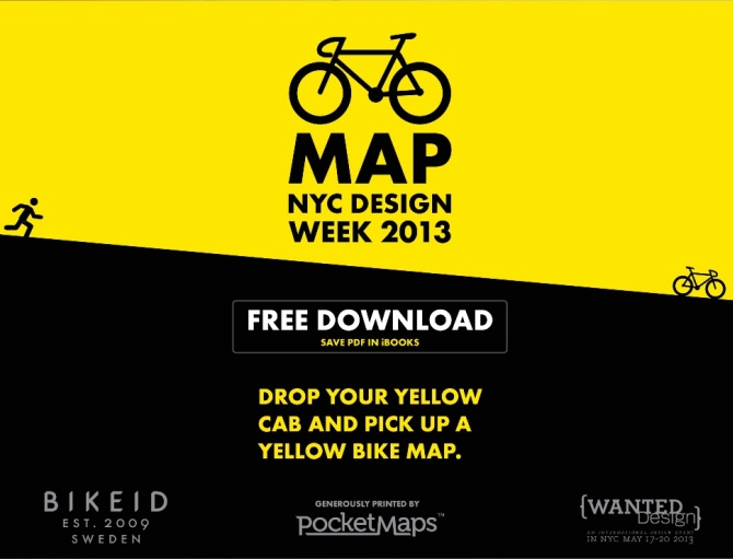 BIKEID NY   > NEW YORK DESIGN EVENTS IN MAY 2013 NYXDesign PageMDA