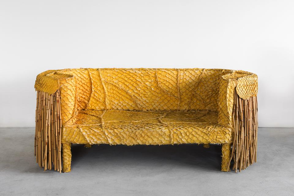 Design News Top 10 Galleries at Design Miami (2)  Design News: Top 10 Galleries at Design Miami/ CAMPANA Pirarucu Sofa 010