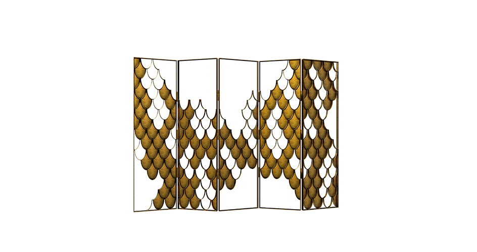 High Point Market Style Report for Summer - Fall 2016 high point market style report High Point Market Style Report for Summer - Fall 2016 koi folding screen contemporary design by brabbu 1