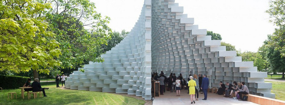 e Bjarke Ingels Group - Serpentine Galleries Unique Design of Summer Houses 2016
