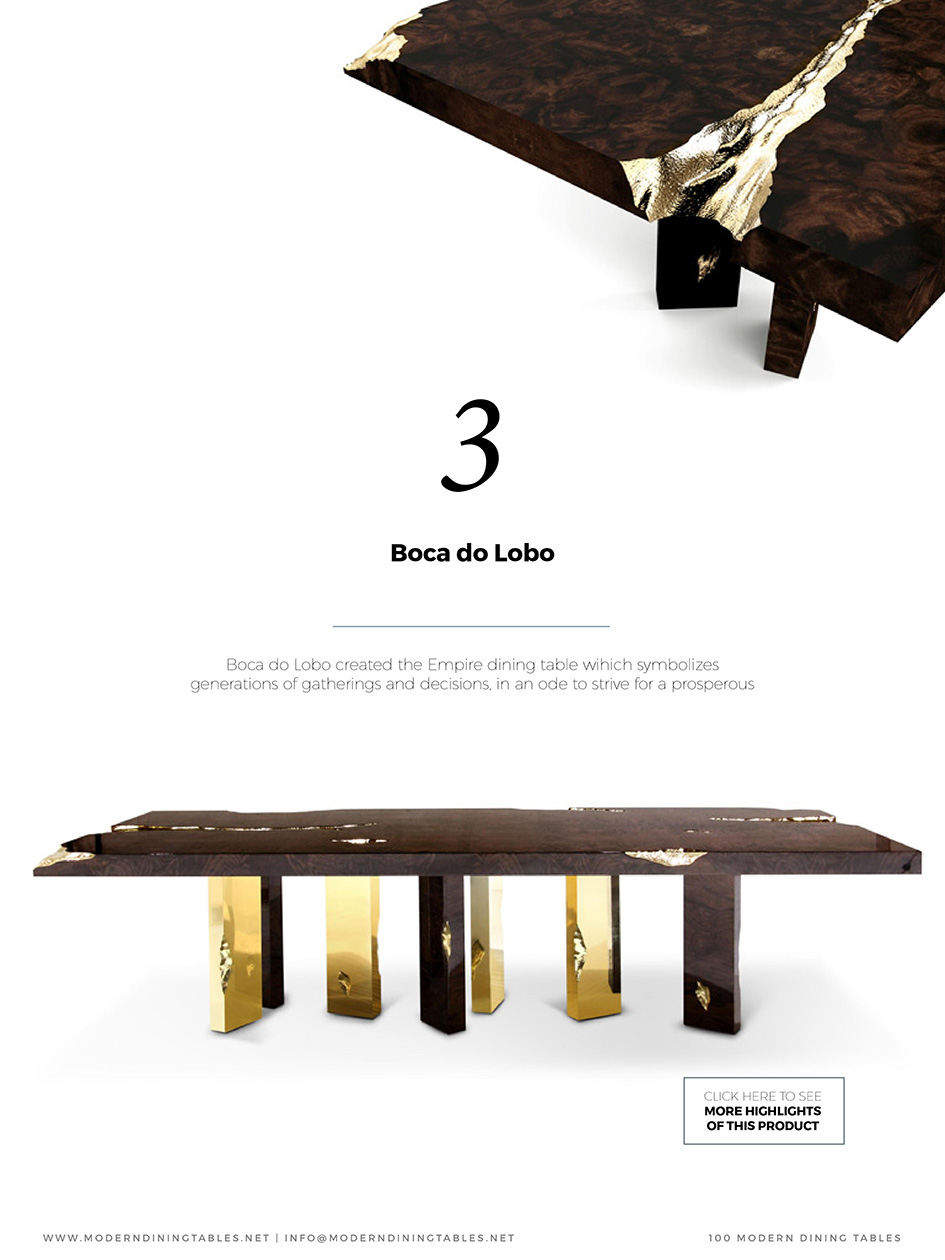 60 Must-See Modern Dining Tables modern dining tables 60 Must-See Modern Dining Tables 0005 1