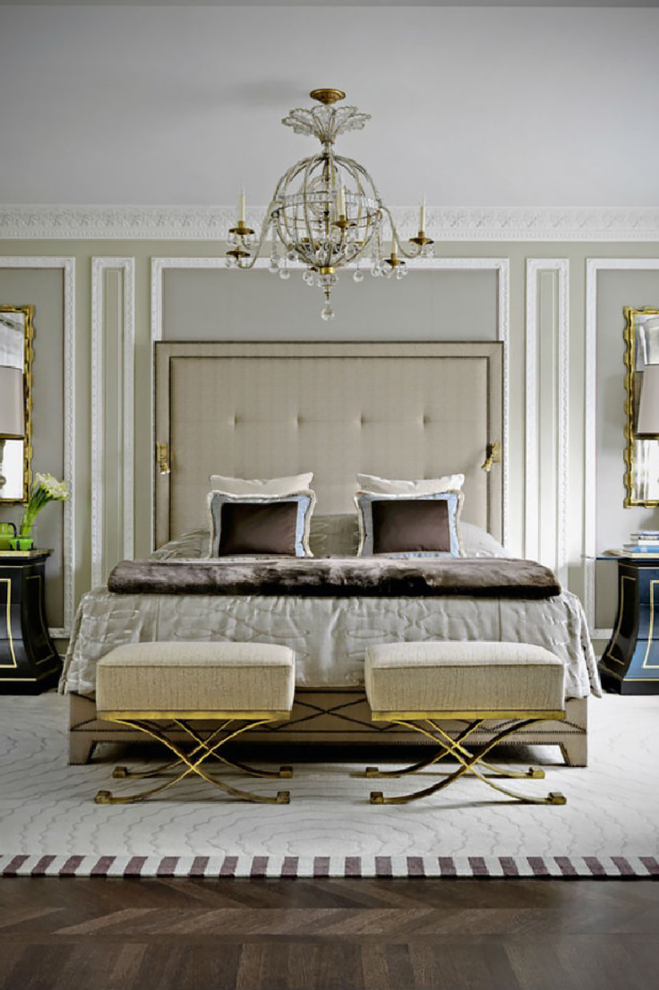 100 Must-See Bedroom Ideas for Inspiration bedroom ideas 100 Must-See Bedroom Ideas for Inspiration 18 Jean Louis Deniot ultra luxurious bedroom apartment