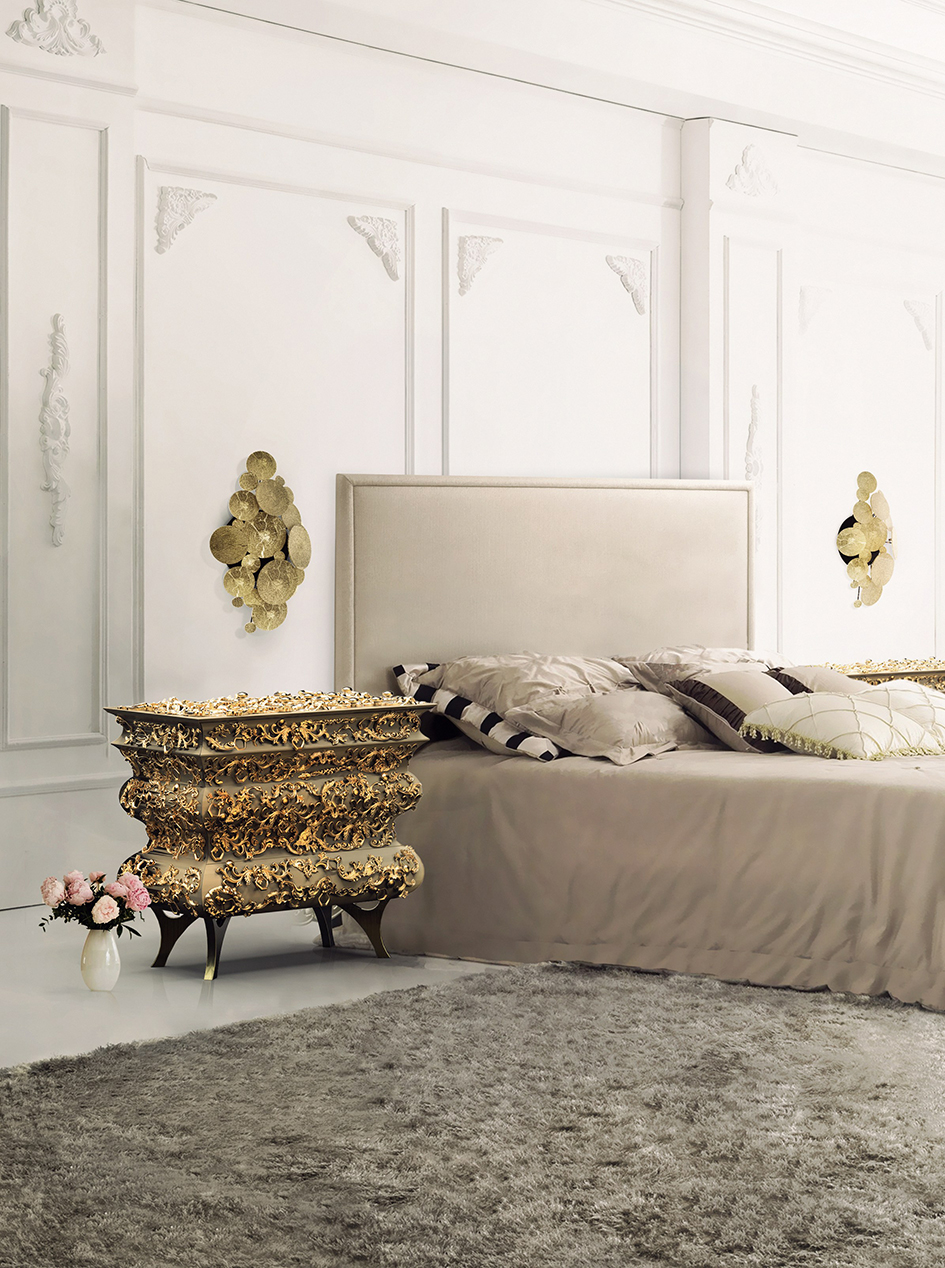 100 Must-See Bedroom Ideas for Inspiration bedroom ideas 100 Must-See Bedroom Ideas for Inspiration CROCHET Nightstand Boca do Lobo 101759 rel1c64484a