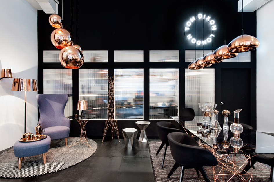 Top 3 Luxury Houses and Design Stores luxury houses Top 3 Luxury Houses and Design Stores Tom Dixon First New York show room The Shop Manhattan dezeen 936 1
