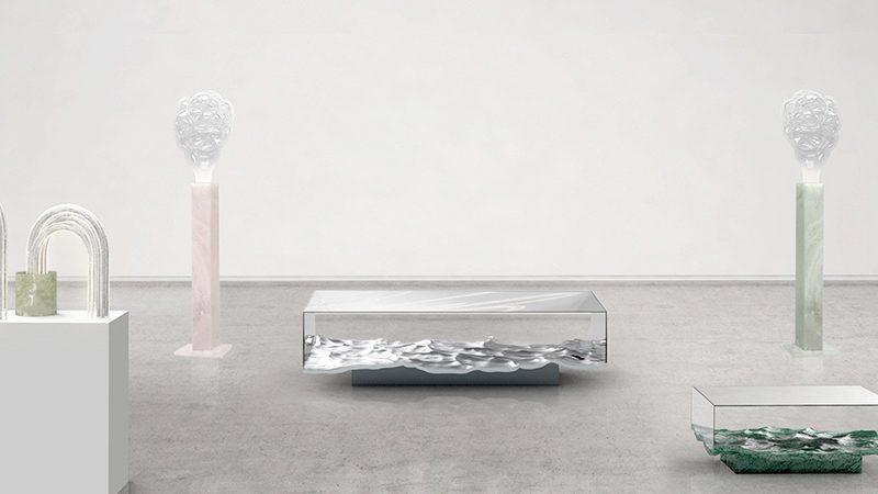 Lehanneur Presents Liquid Marble Technique at London Design Festival