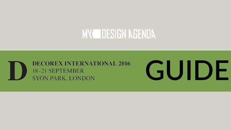 London Design Festival: Decorex 2016 Exclusive Infographic