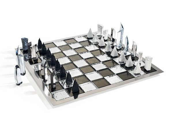 daniel-libeskind-chess-set swarovski The Art of Swarovski daniel libeskind chess set 1