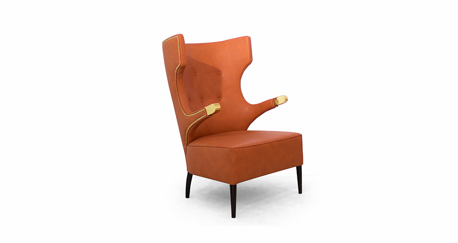 Brabbu at EquipHotel Paris 2016 equiphotel paris 2016 Brabbu at EquipHotel Paris 2016 sika wing chair mid century modern furniture by brabbu 1