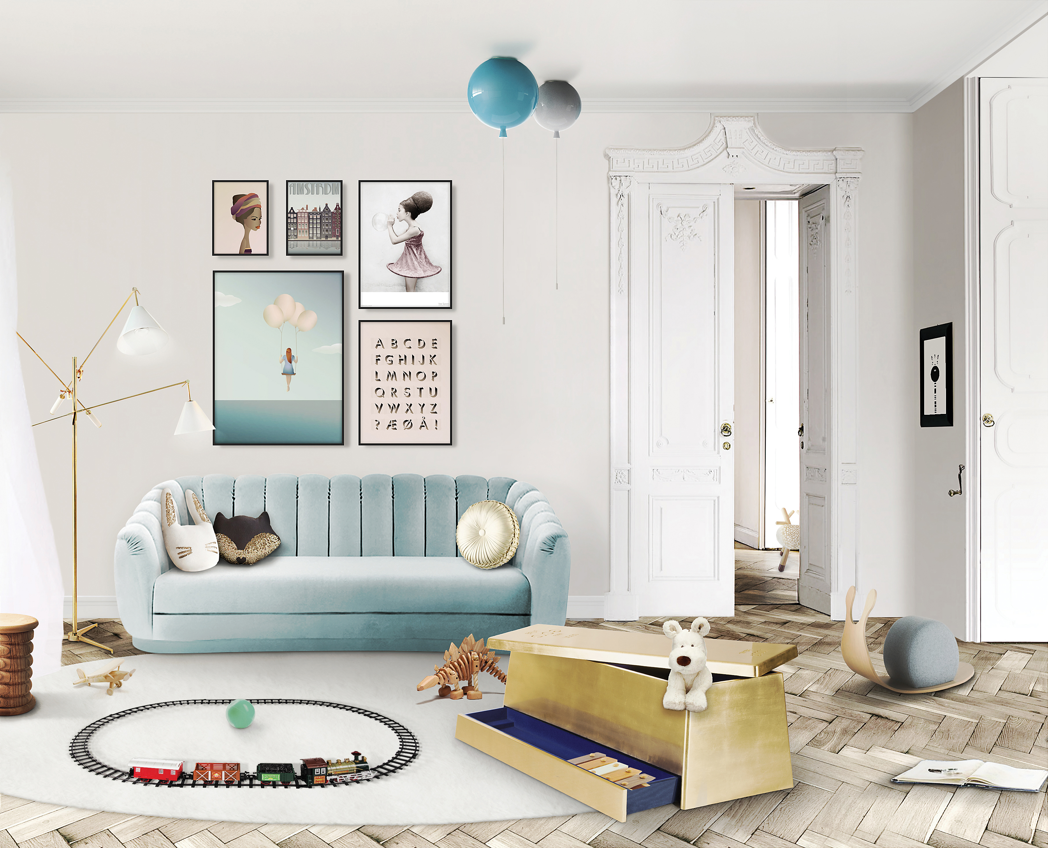 Top 5 Furniture Brands at Maison et Objet 2017 furniture brands Top 5 Furniture Brands at Maison et Objet 2017 gold box ambiente