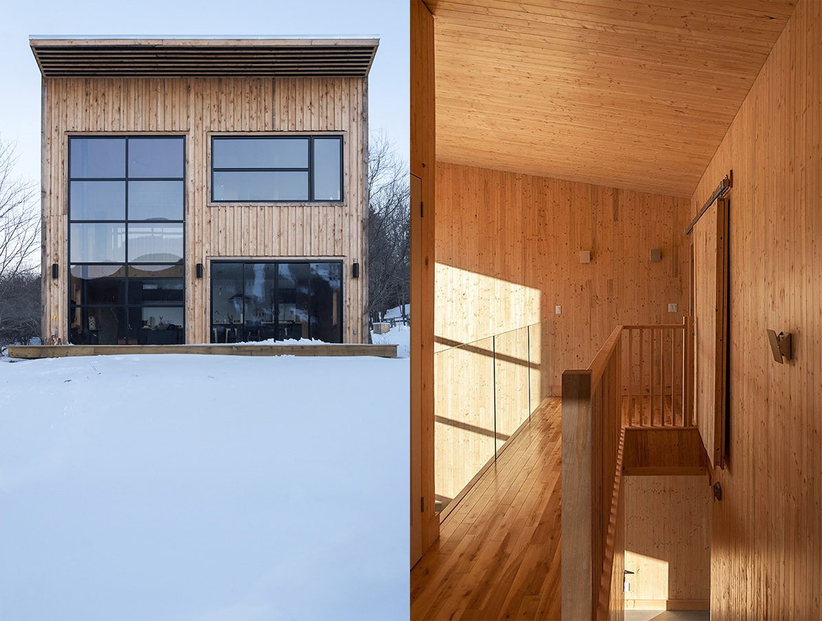 Atelier L'abri designs stunning Wood Cabin for Young Carpenter atelier l'abri Atelier L'abri designs stunning Wood Cabin for Young Carpenter Atelier Labri designs stunning Wood Cabin for Young Carpenter 2 1