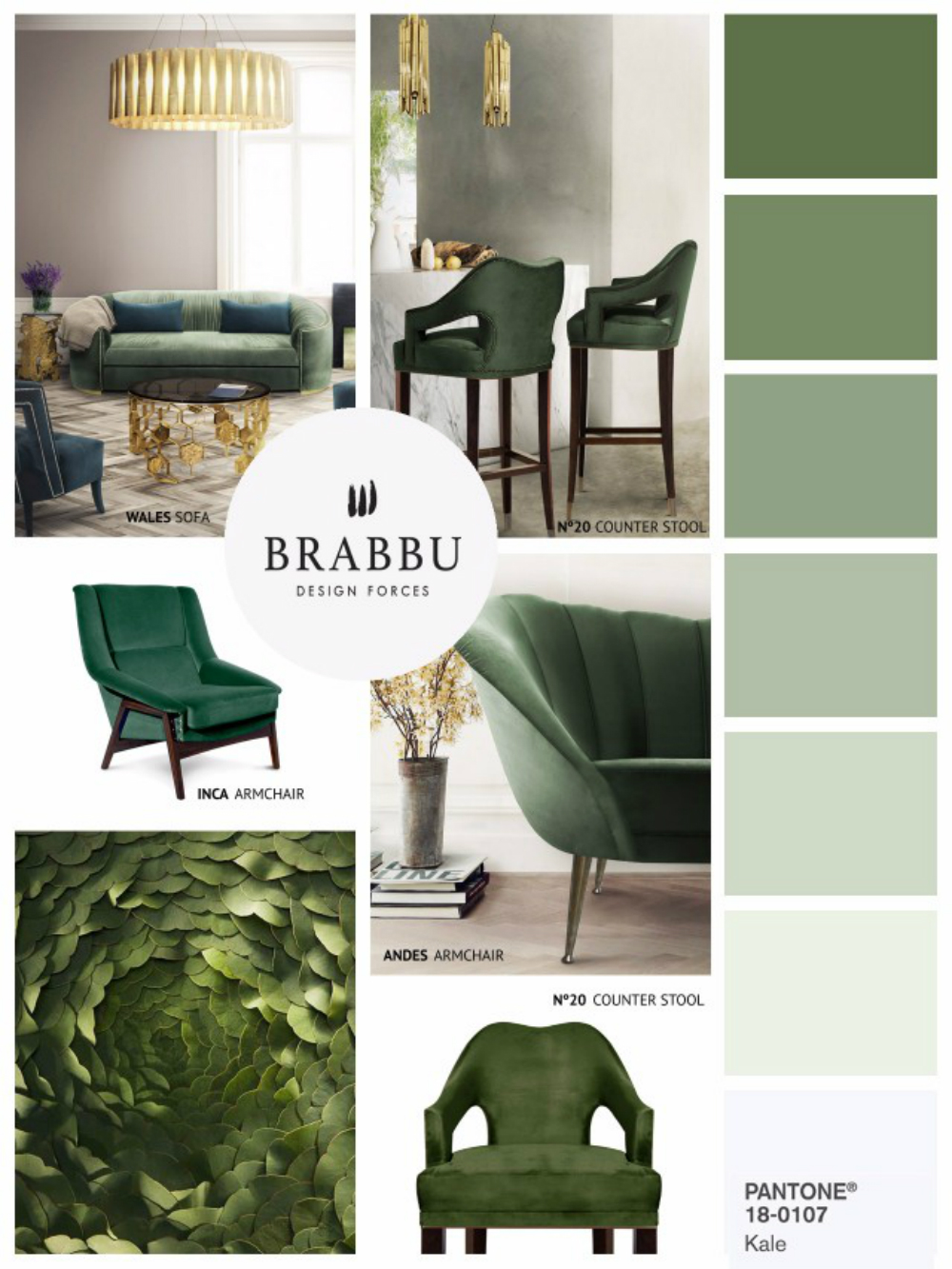 Home decor color trends for spring 2017 according to pantone - 2017 pantone view home interiors palettes ...