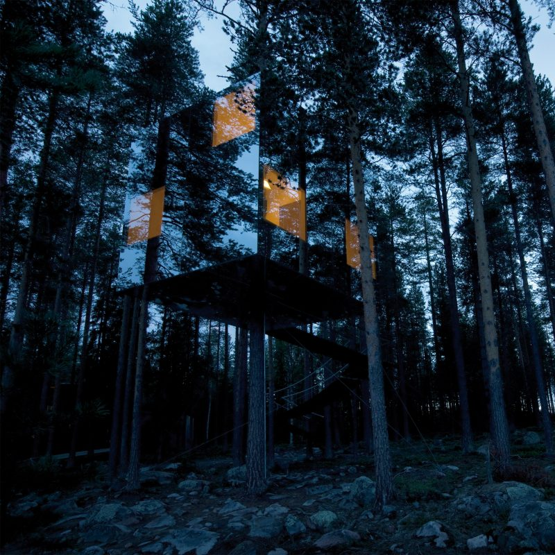 3 Awesome Treehouses You Will Want to Sleep in at Sweden's Treehotel