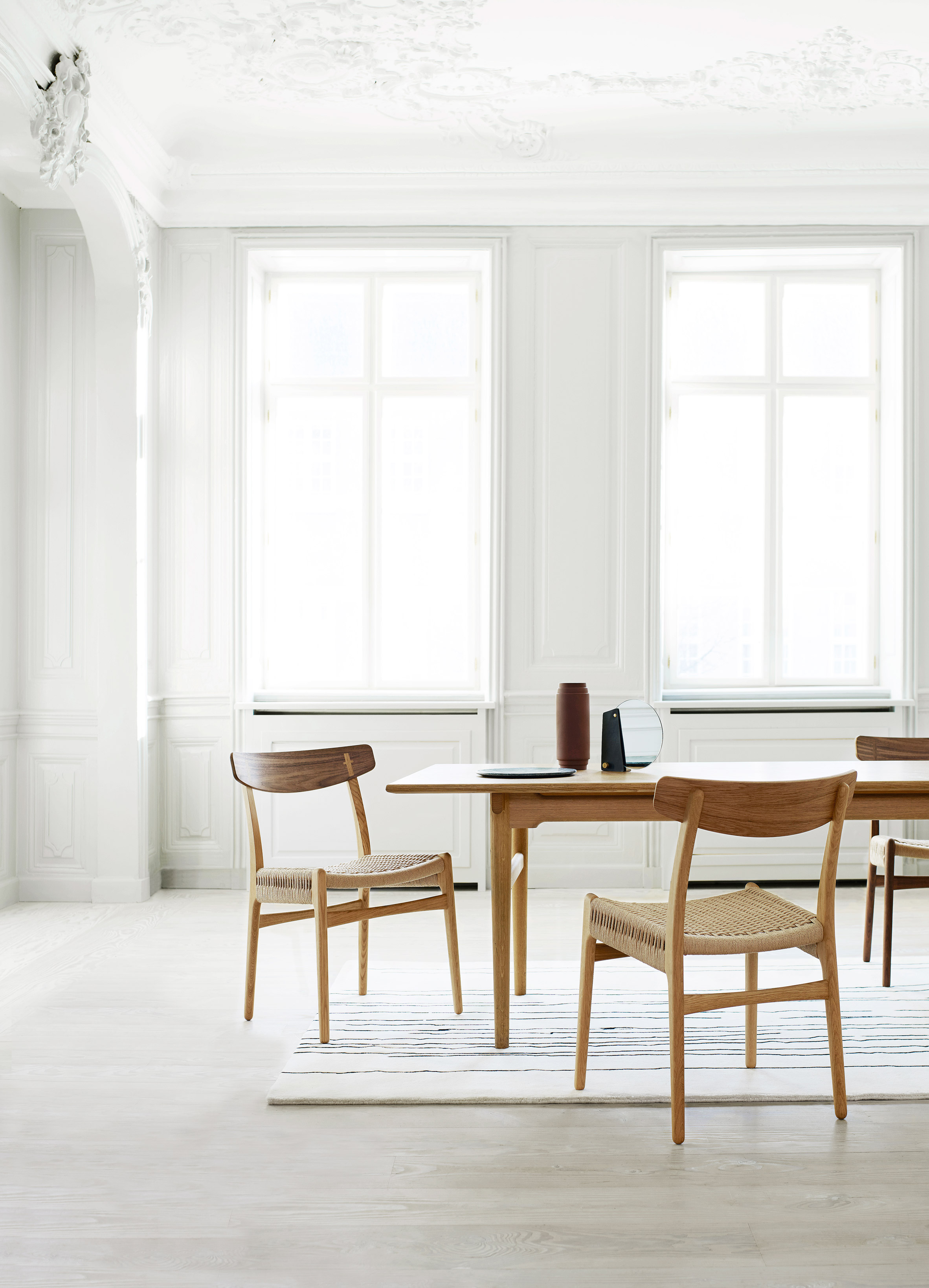 Carl Hansen U0026 Son Re Releases Final Chair From Hans J Wegner Collection Hans  J