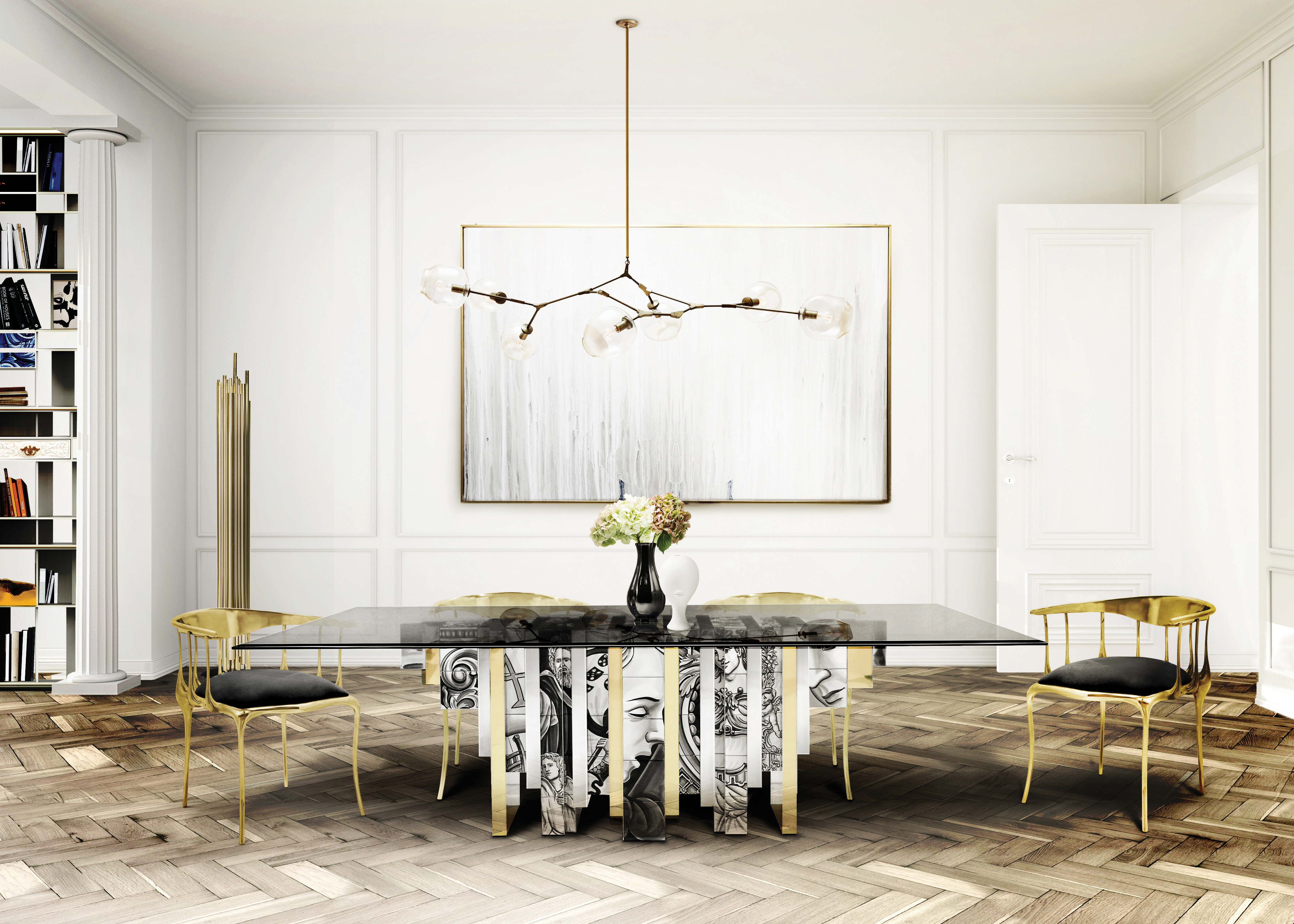 Dining Room Ideas For a Dazzling Dinner dining room ideas Dining Room Ideas For a Dazzling Dinner Dining Room Ideas For a Dazzling Dinner 4
