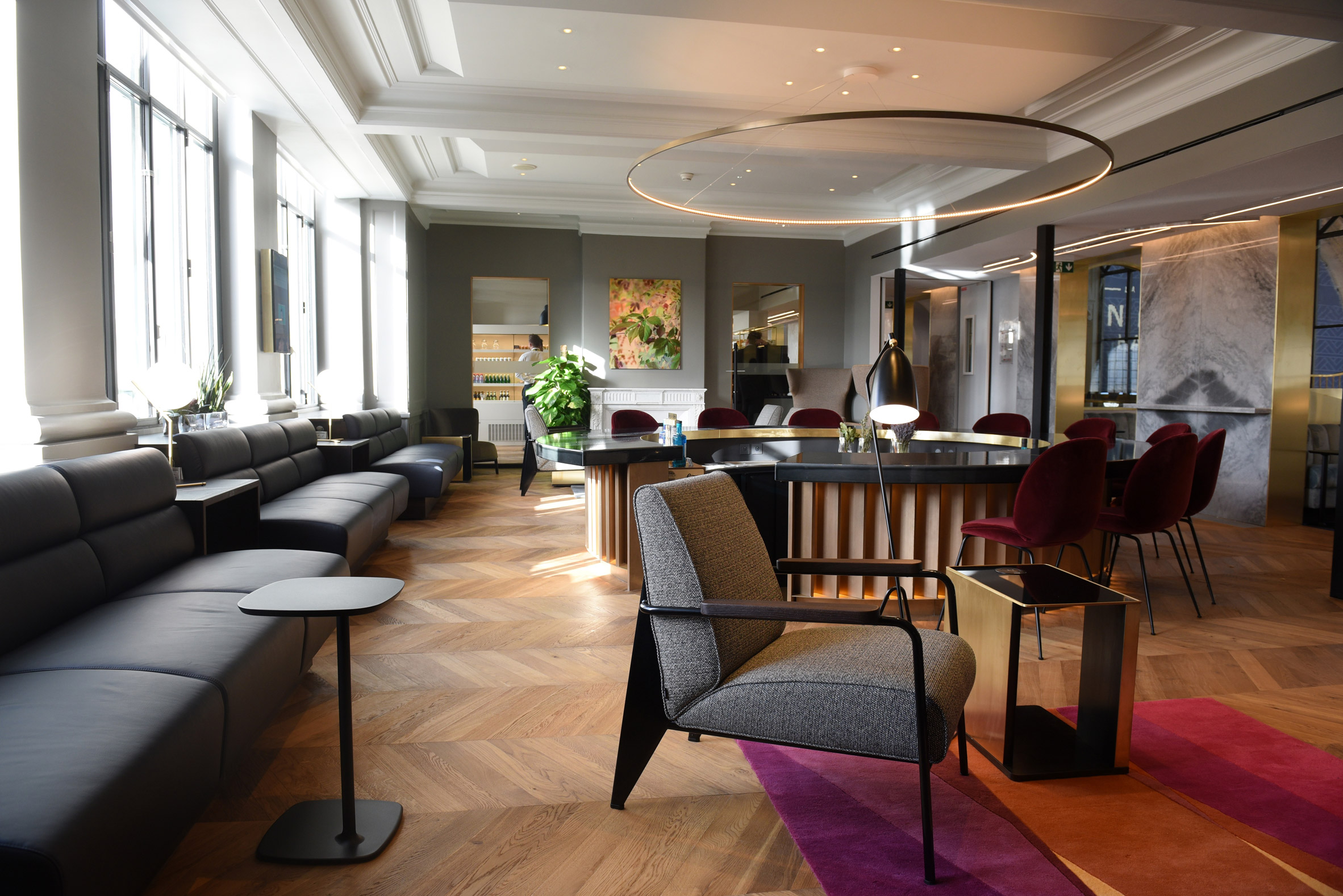 London Studio Softroom designs luxurious Eurostar Lounge in Paris eurostar lounge in paris London Studio Softroom designs luxurious Eurostar Lounge in Paris London Studio Softroom designs luxurious Eurostar Lounge in Paris 3