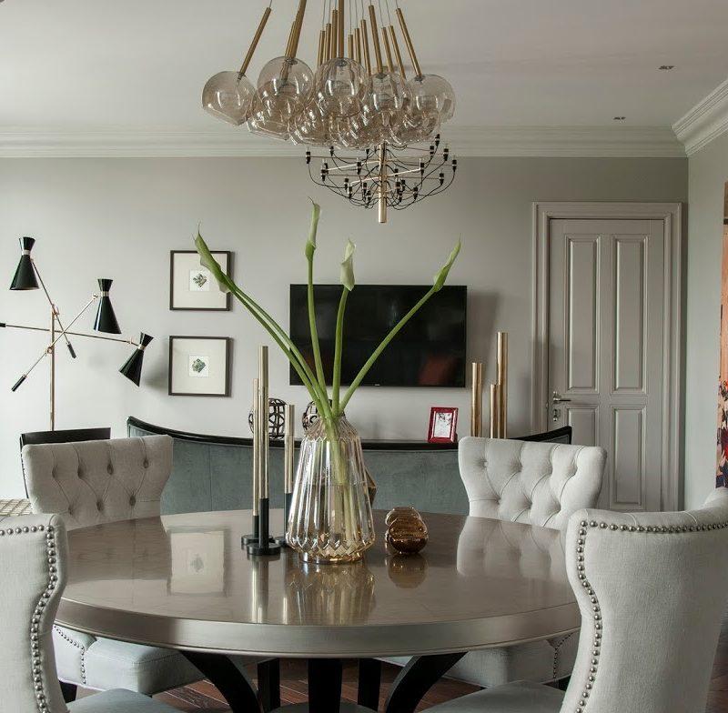 Yana Molodykh Designs Stunning Art Deco Apartment in Kiev