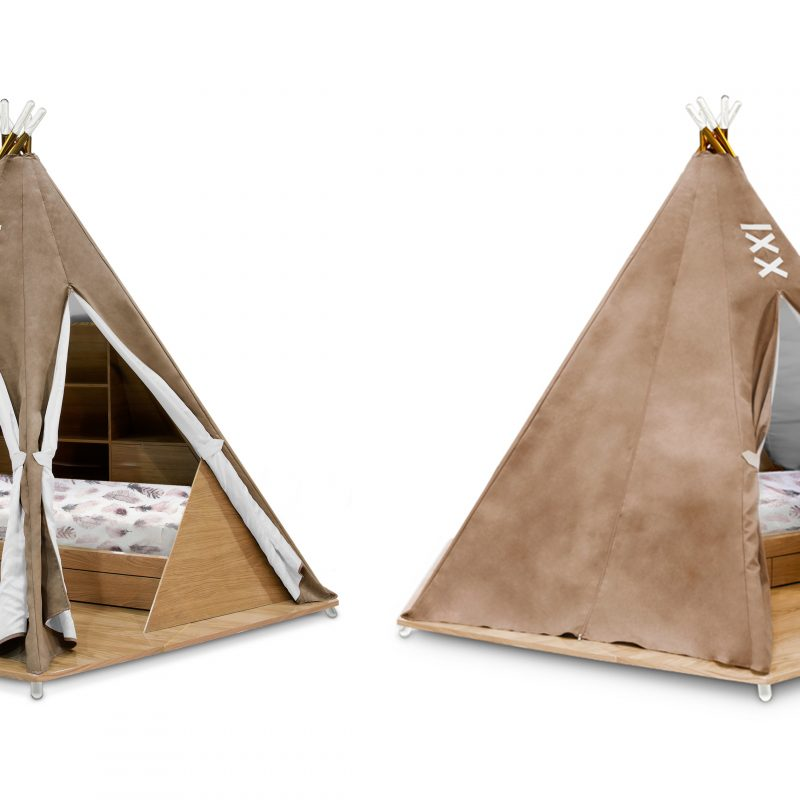 Circu's New Kids Furniture Collection Inspired by the Native American