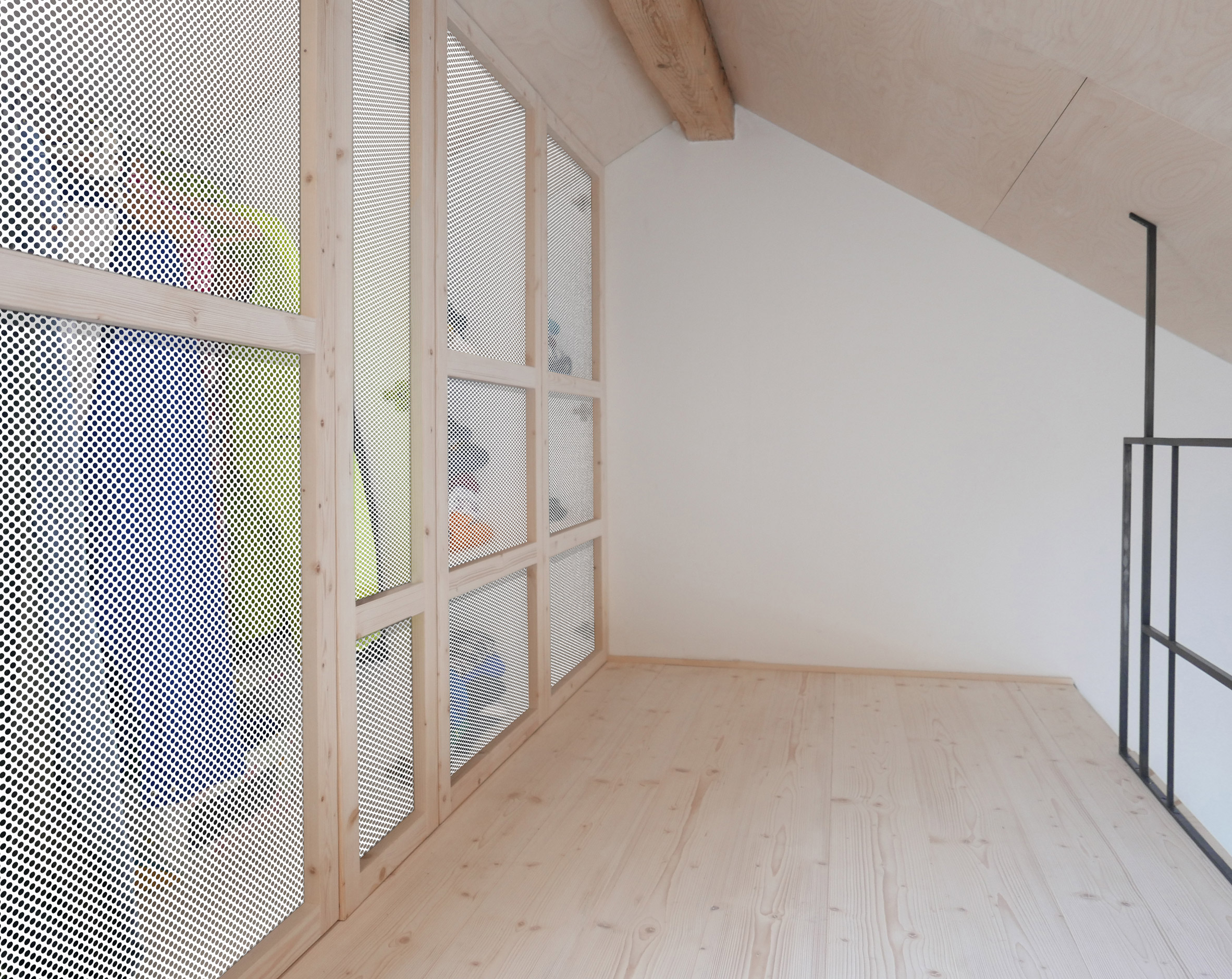 Jab Studio Creates Rustic Interior Design for Loft Apartment