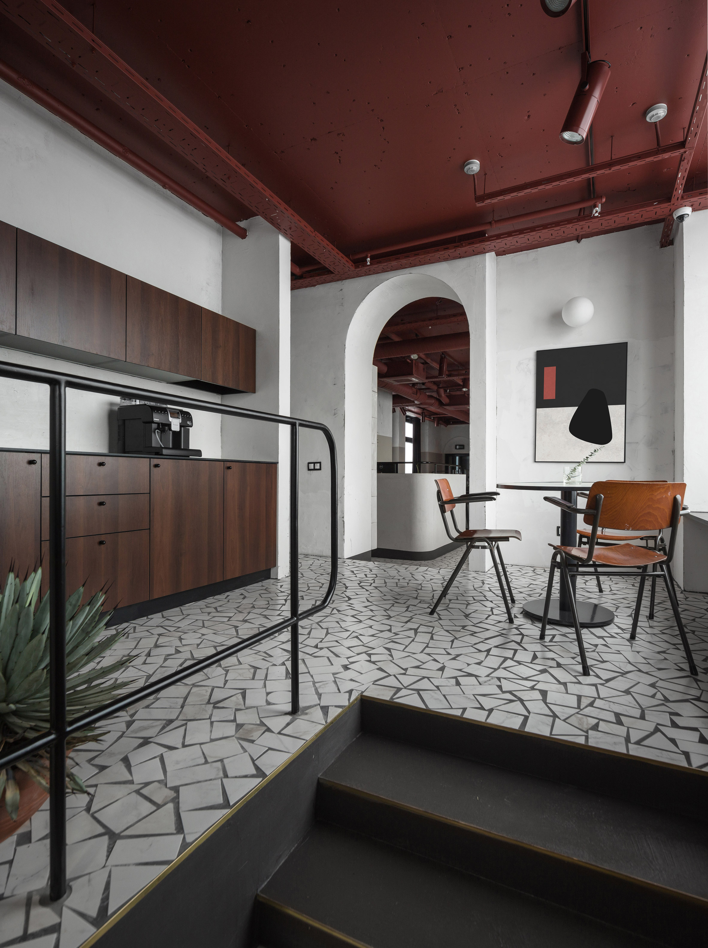 Studio11 Recreates Soviet Architecture in Gaming Company Office Design office design Studio11 Recreates Soviet Architecture in Gaming Company Office Design Studio11 Recreates Soviet Architecture For Gaming Company Office 6