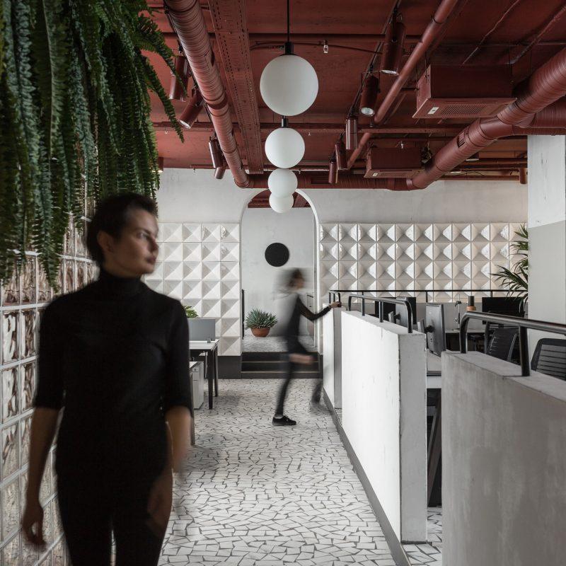 Studio11 Recreates Soviet Architecture in Gaming Company Office Design