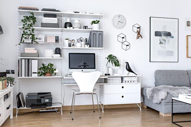 A Tour Inside a Blogger's Home Office Design