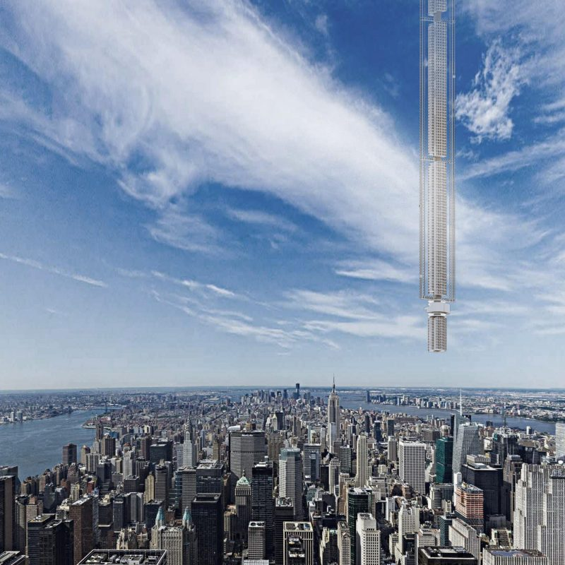 Tallest Building in the World May Be Hanged from an Asteroid
