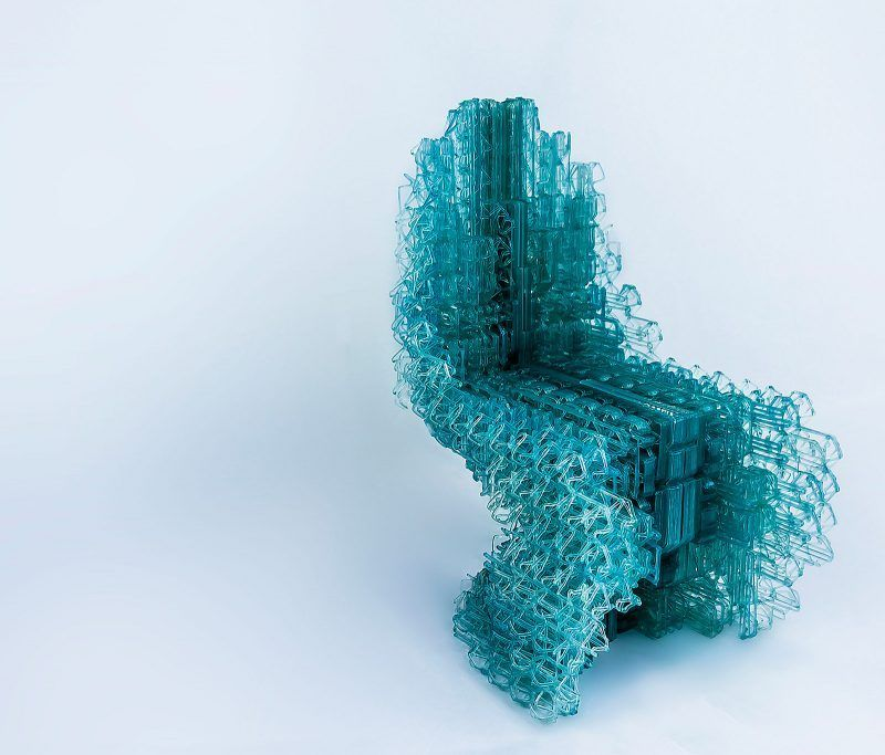Amazing 3D Printed Chair Designed With Bartlett 's New Software