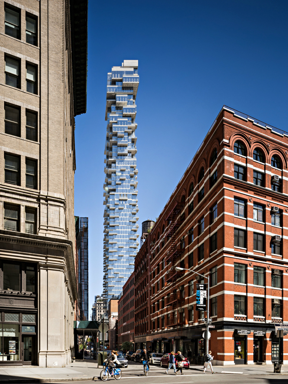 herzog & de meuron designs Colossal Jenga Tower in New York City herzog & de meuron Herzog & de Meuron designs Colossal Jenga Tower in New York City Herzog de Meuron designs Colossal Jenga Tower in New York City