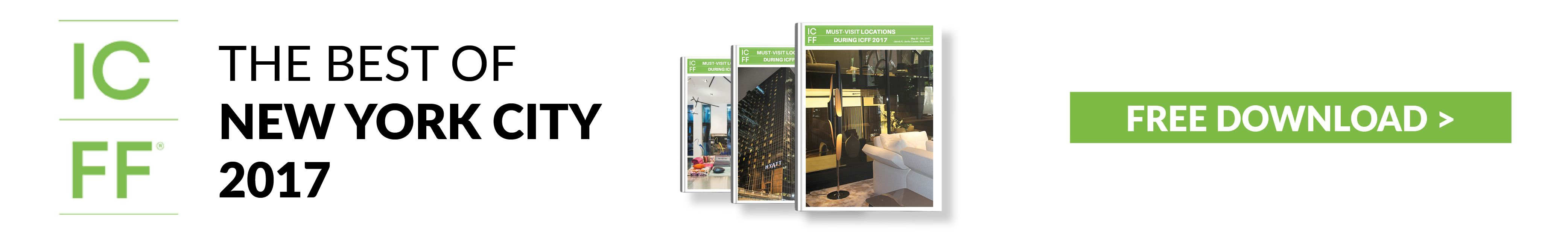 icff 2017 ICFF 2017: Celebrate Design in NYC ICFF1 banner home ICFF BRABBU'S Ultimate guide for ICFF & New York Design Week ICFF1 banner home nycxdesign awards The Winners of 2017 NYCxDesign Awards ICFF1 banner home