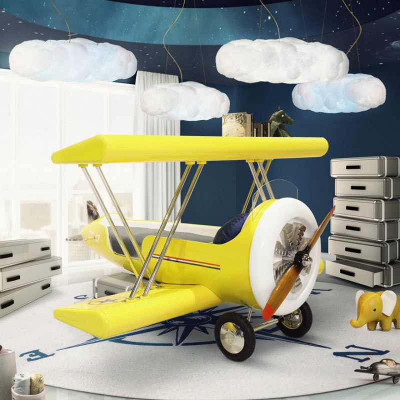 How to Create an Airplane Inspired Bedroom Design