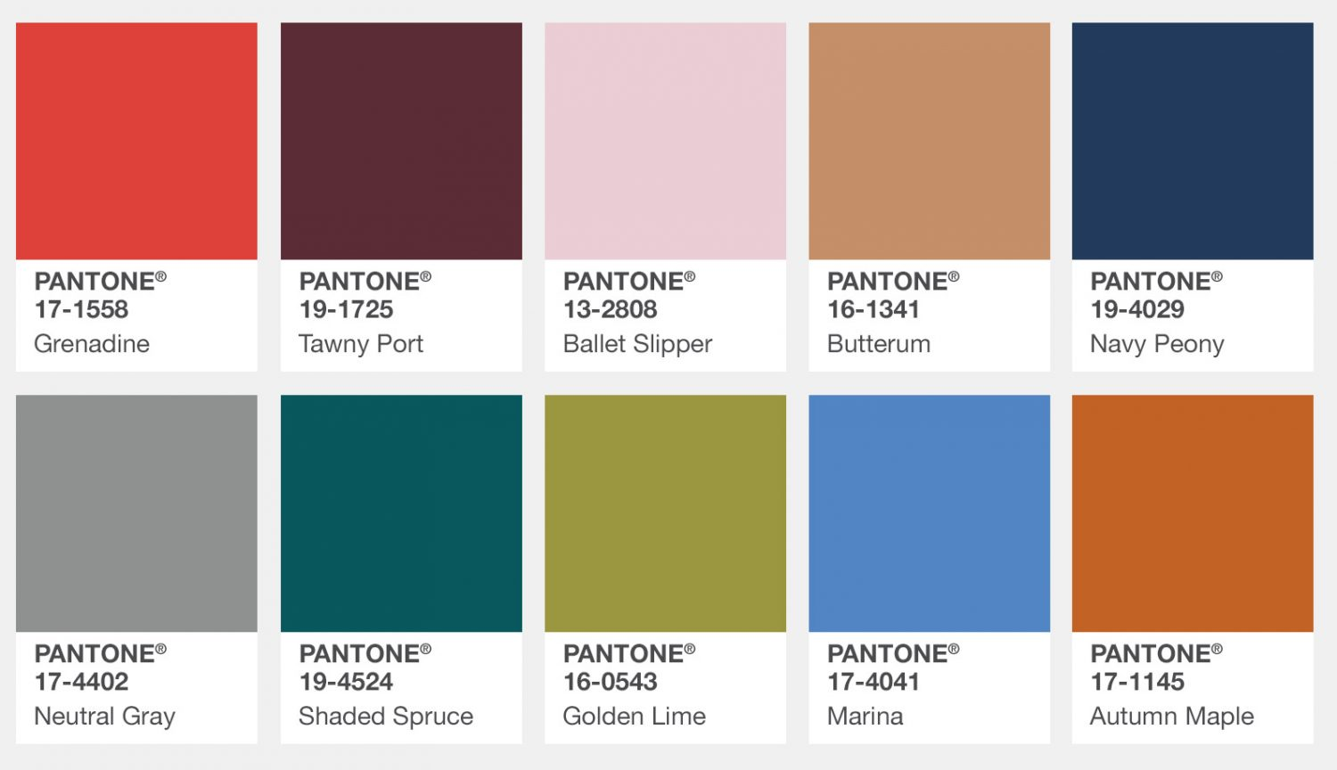 According to Pantone These Are the Fall 2017 Color Trends fall 2017 color trends According to Pantone These Are the Fall 2017 Color Trends According to Pantone These Are the Fall 2017 Color Trends