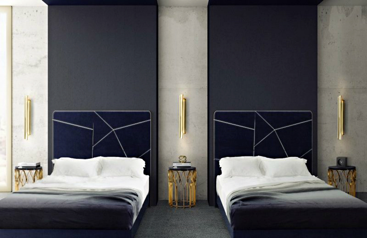 Luxury Hotel in Berlin Features Bold Colors and Opulent Textures