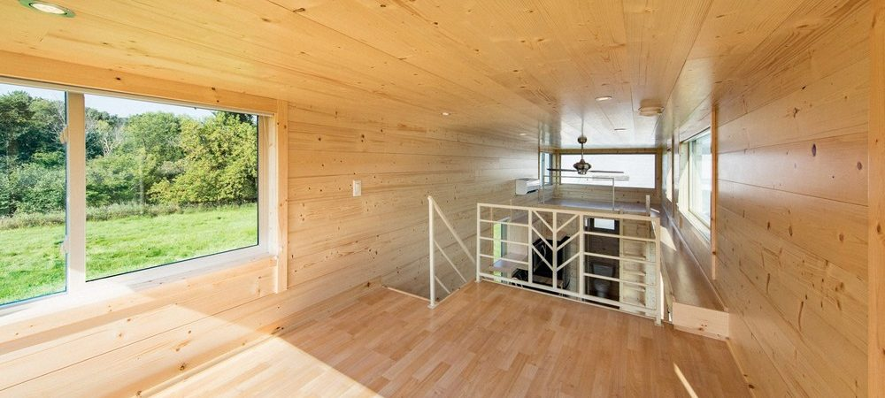Escape One XL a two-storey micro home on wheels