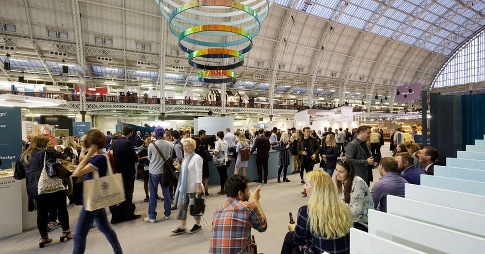 Exhibitors at 100% Design 2017