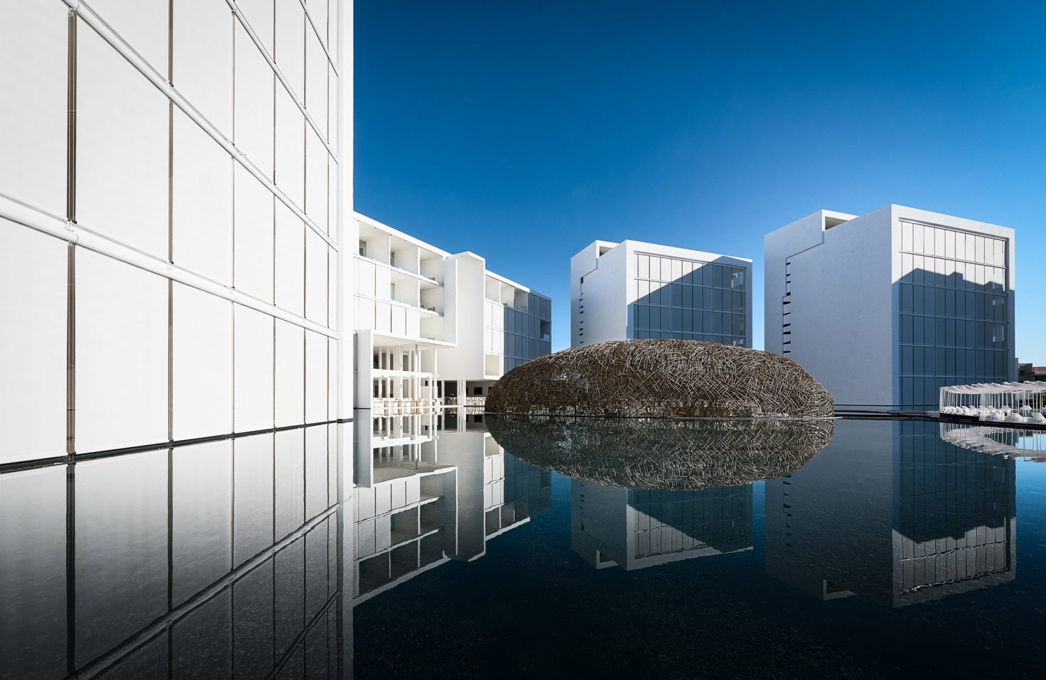 Hotel Mar Adentro by Taller Aragonés Surrounded by Expansive Pools hotel mar adentro Hotel Mar Adentro by Taller Aragonés Surrounded by Expansive Pools Hotel Mar Adentro by Taller Aragon  s Surrounded by Expansive Pools 1
