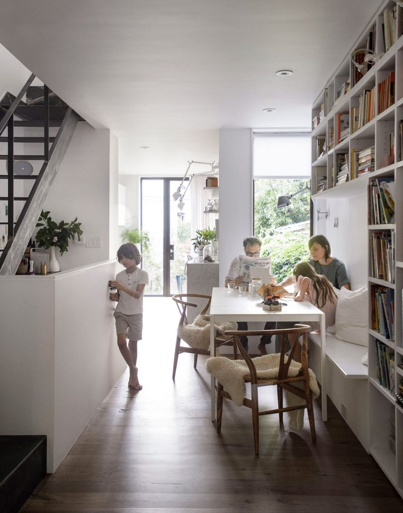 Office of Architecture Expands Row House in Brooklyn