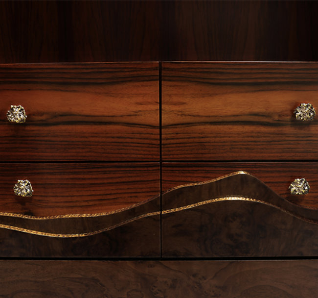 Brabbu Has Two New Fabulous Walnut Wood Pieces For Your House