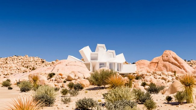 Joshua Tree Residence Get Amazed by Joshua Tree Residence Designed by James Whitaker Get Amazed by Joshua Tree Residence Designed by James Whitaker 1