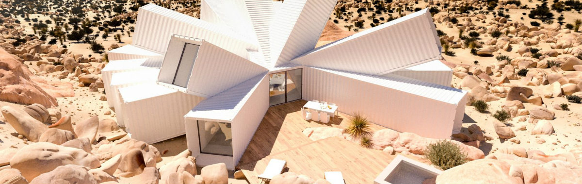 Get Amazed by Joshua Tree Residence Designed by James Whitaker