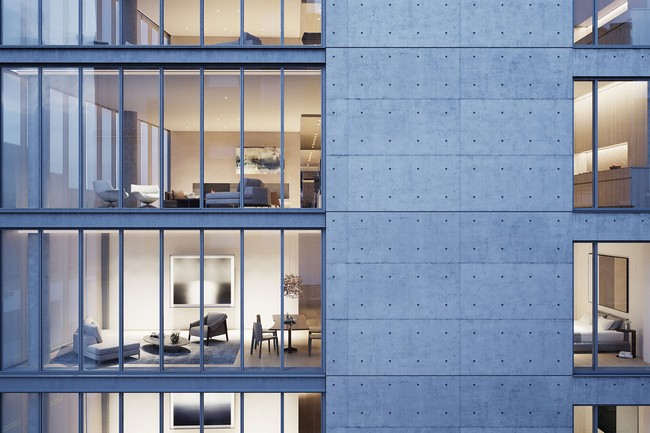 Tadao Ando Showcases Japanese Architecture in NYC Residential Complex