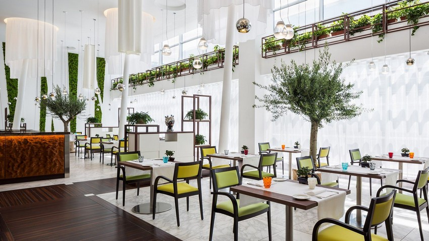 Sheraton Debuts an New Elegant Restaurant Design At Milan Aiport Hotel elegant restaurant design Sheraton Debuts New Elegant Restaurant Design At Milan Aiport Hotel Sheraton Debuts an New Elegant Restaurant Design At Milan Aiport Hotel 3