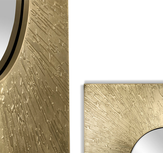 Singular Luxury It´s Personified In Brabbu's Two New Wall Mirrors