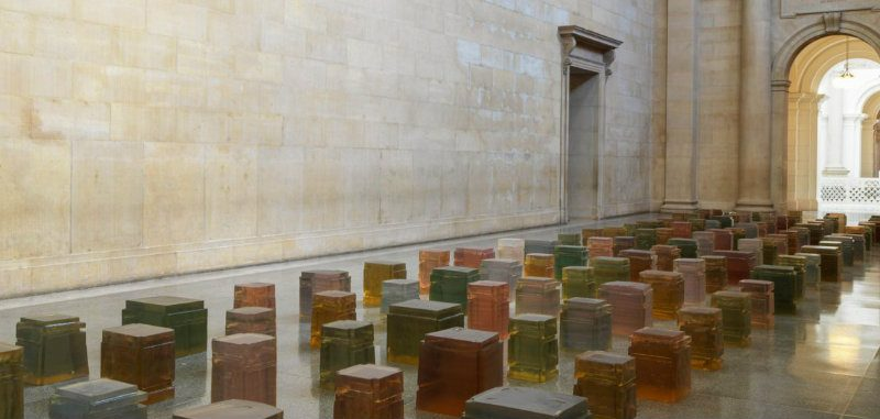 Tate Modern Exhibit 30 Years of Sculpture by Rachel Whiteread